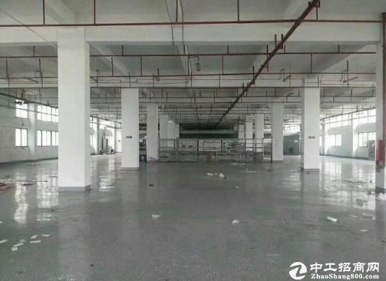 坪山大工业区高薪技术产业园楼上760平无公摊出租
