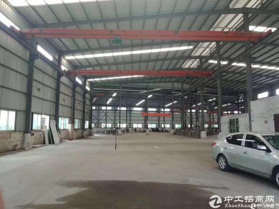 坑梓大型工业园钢构厂房2300平卸货平台