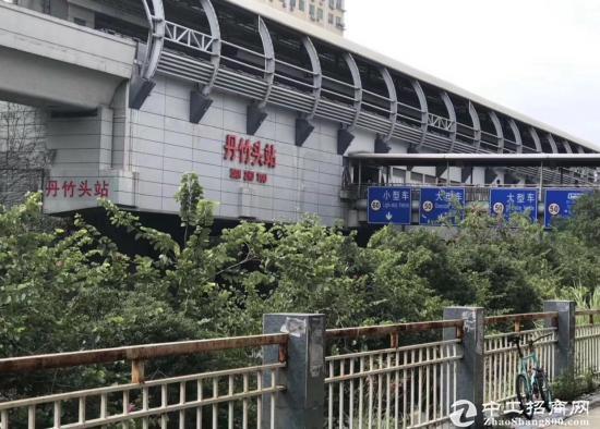 (出租) 布吉丹竹头地铁站独栋9600平米厂房出租可分租