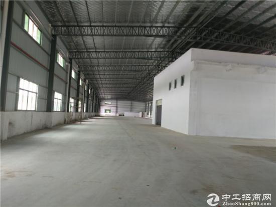 龙岗高速出口钢构厂房出租2700平高7米招租