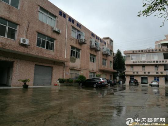 横岗大康3层小独院厂房1800平米宿舍350平米