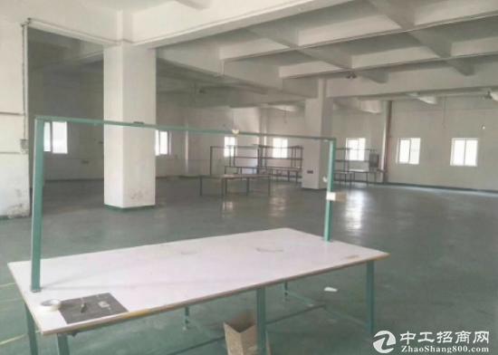 出租) 福永地铁口附近楼上带精装修750平米厂房招租
