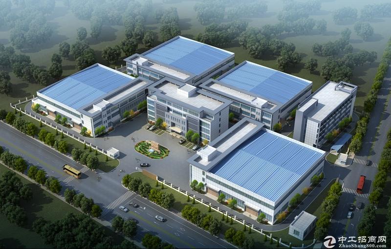 朱泾工业园2万多平厂房独栋每幢4000平起租104工业区