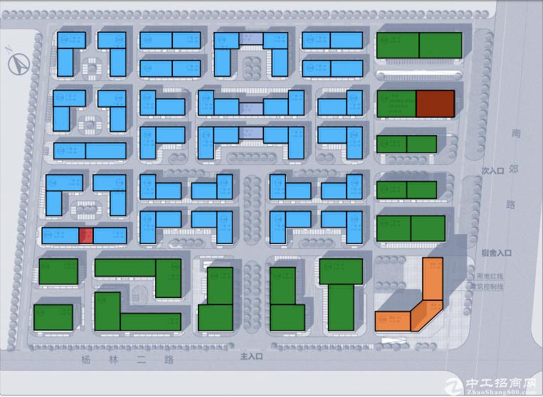 武汉 洪山区 1538㎡ 四层独栋厂房出售 50产权
