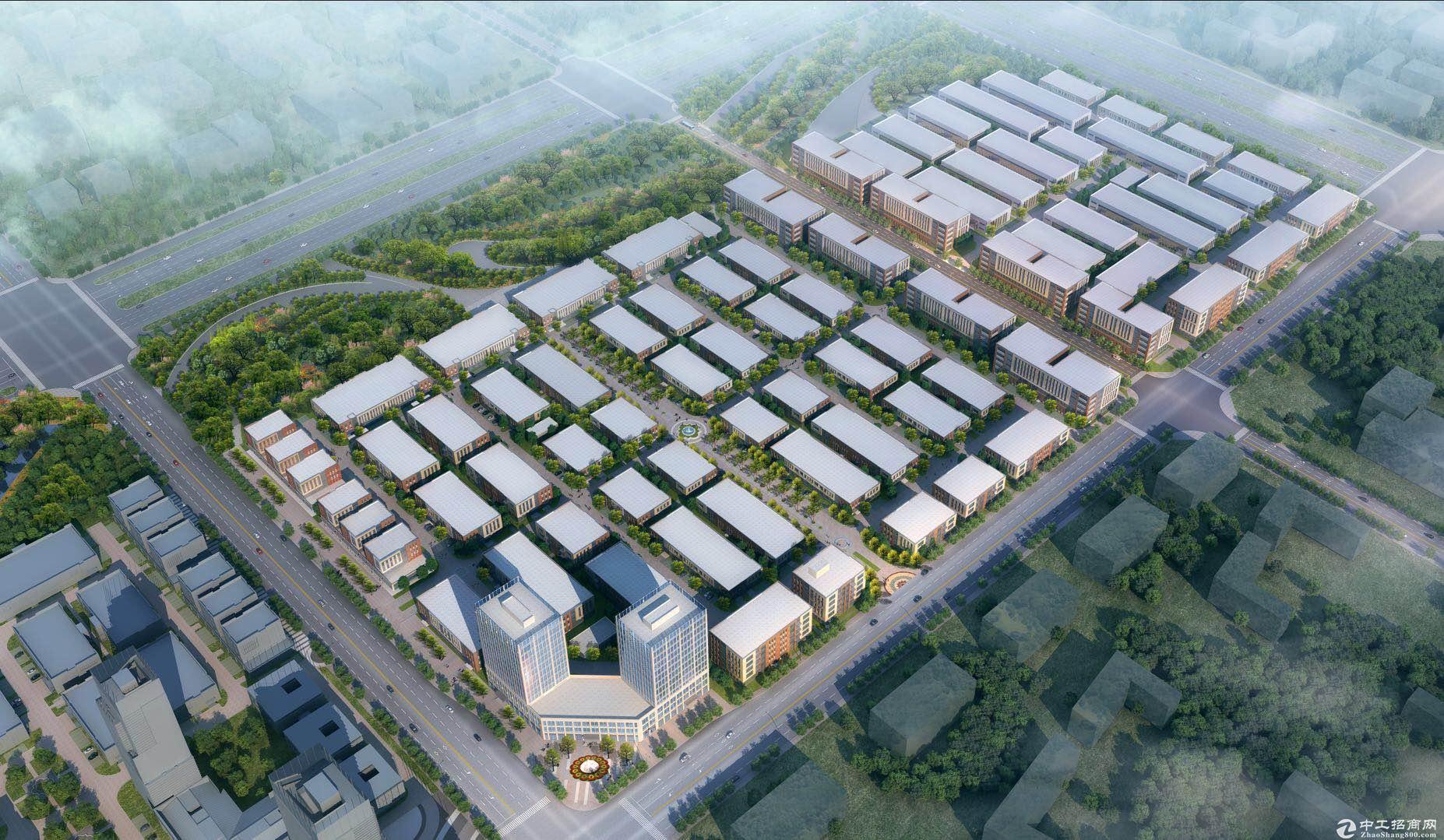 中南高科·西安渭河云谷智造小镇50年独立产权厂房出售-图3