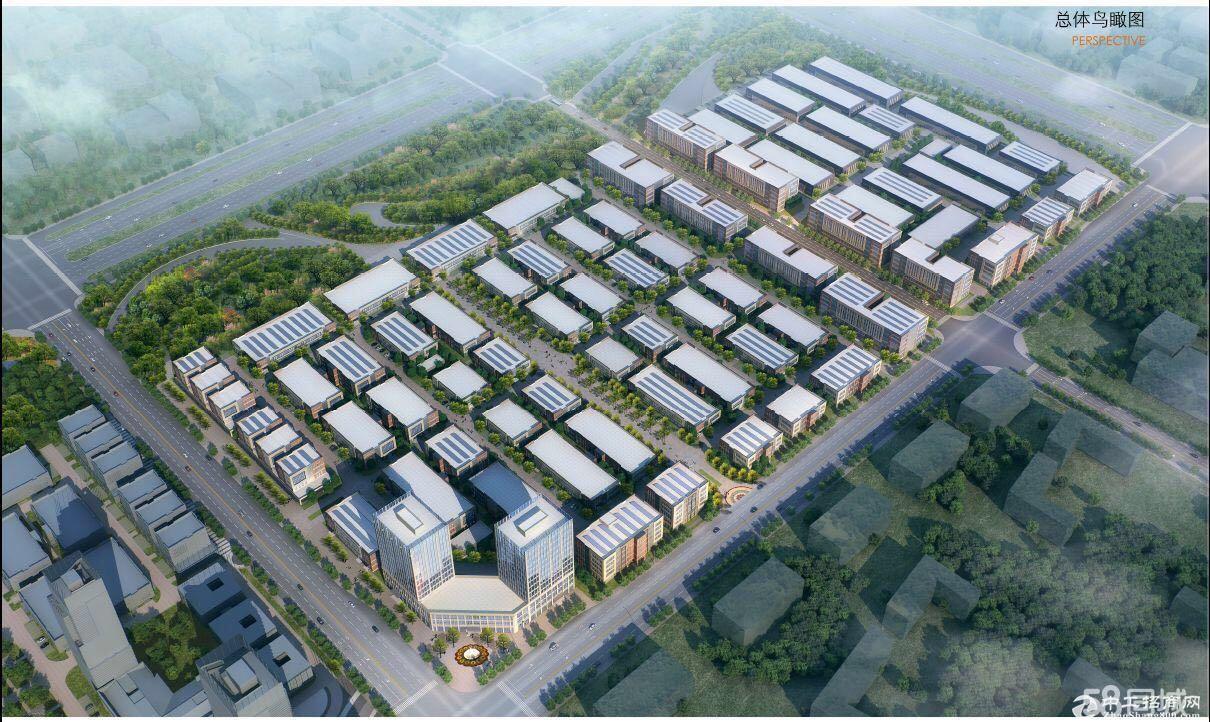 企业首选可环中南高科 企业独栋厂房 1000平至8000平不等