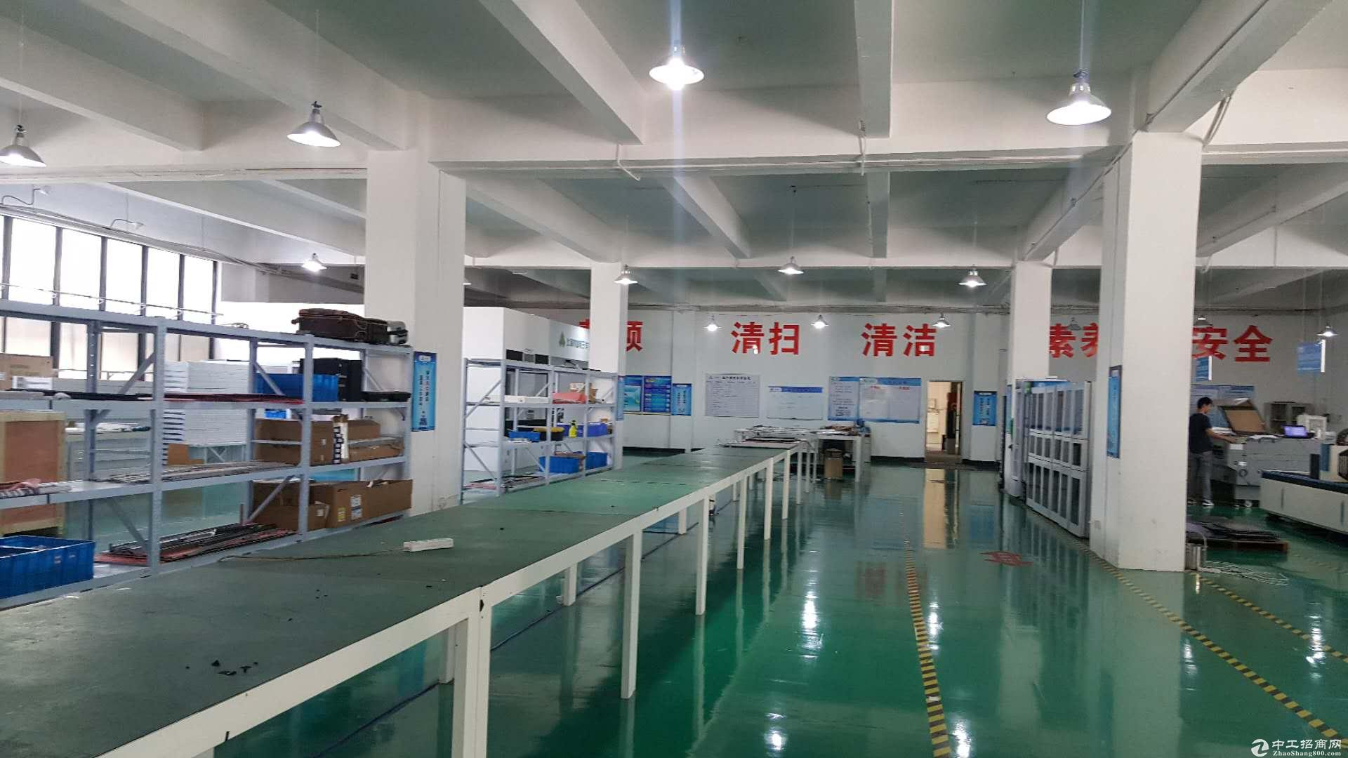 (非中介)张江科学城中心 104板块5000平厂房分租