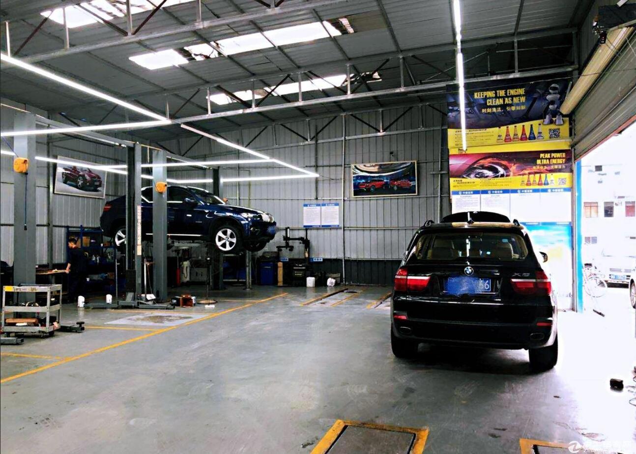 临机场路标准汽修厂房,精装,设备齐全