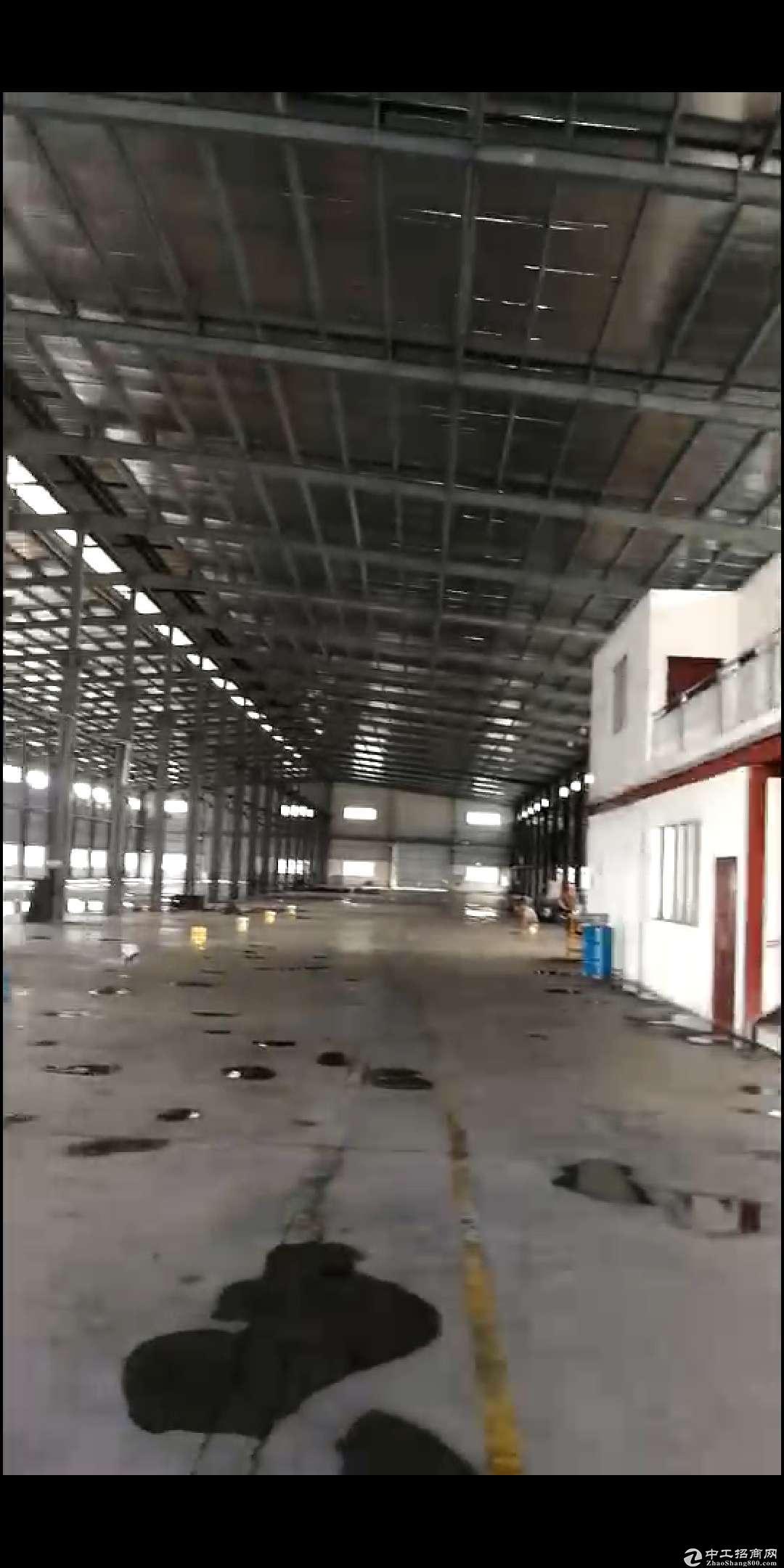 杜阮工业区钢结构厂房5500m²招租 滴水十米 急租