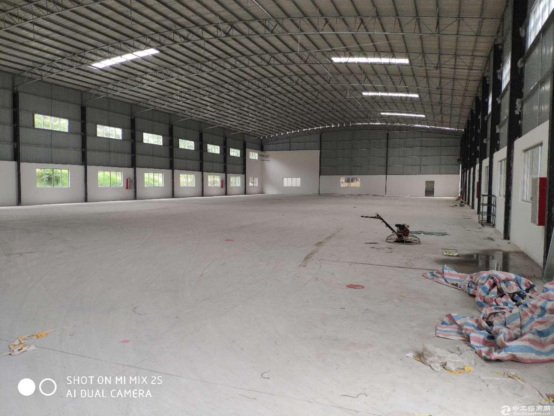 杜阮国道旁全新单一层厂房1830m²电按需空地1000方