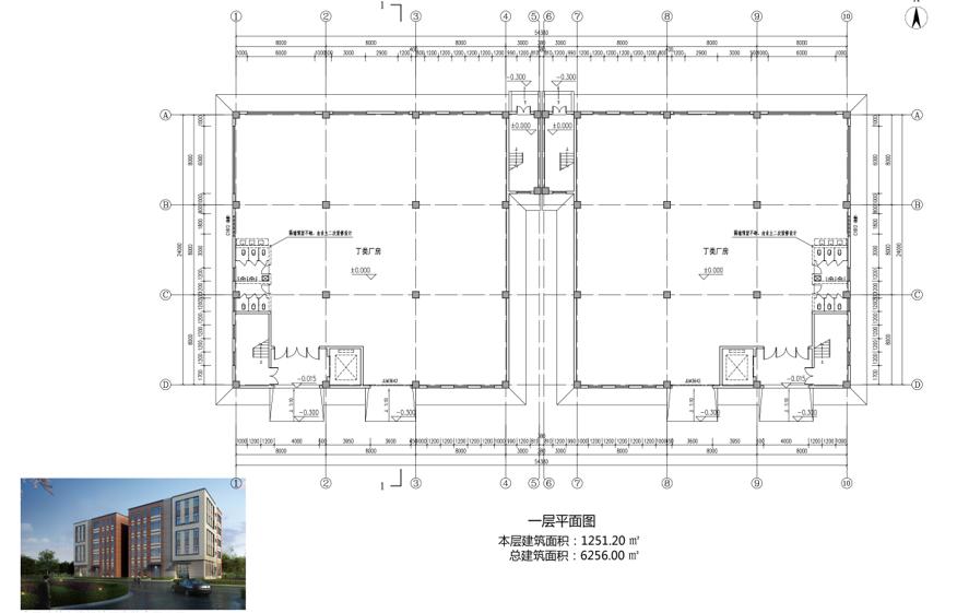 临潼50年产权钢构厂房出售,可按揭-图3