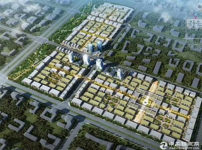 临潼区集生产、研发、办公于一体产业园区厂房出售-图2
