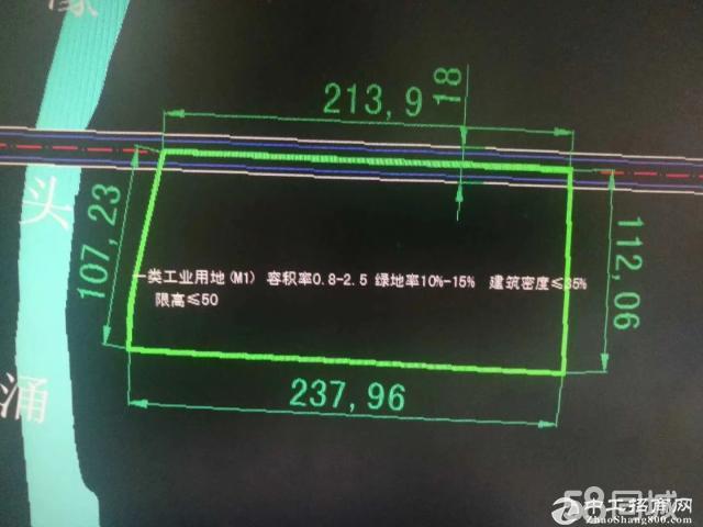 工业地商住待遇重建50米控高-图3
