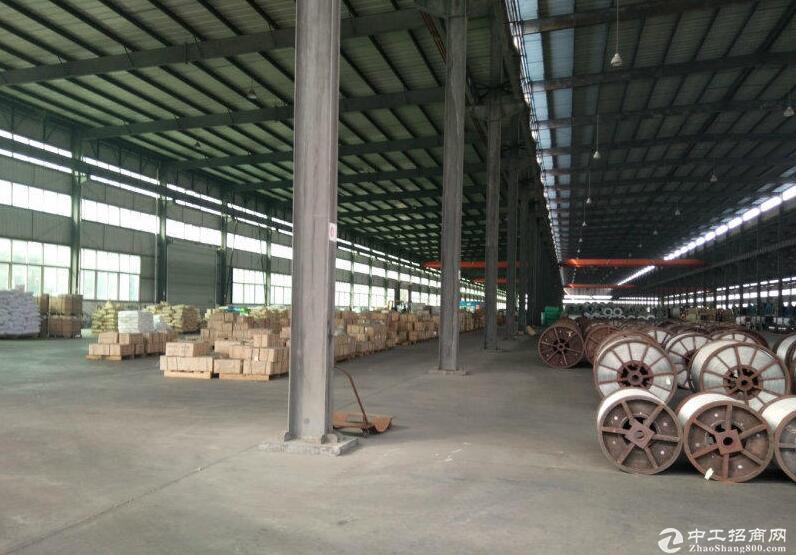 郫县现代工业港南区2500平独栋带行车厂房可分租