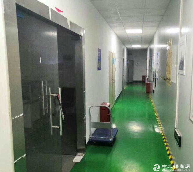 出租楼上680平米带装修厂房出租