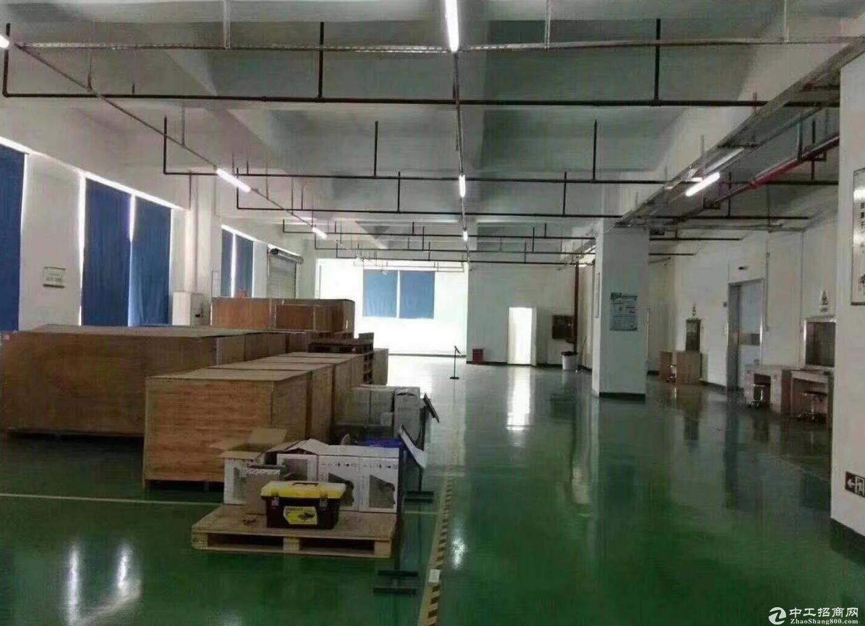 青白江1000平出租带装修地坪漆厂房出租