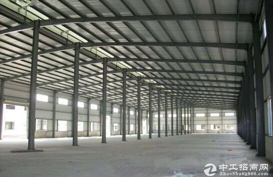 单层钢构厂房,带行车,可以分割出租