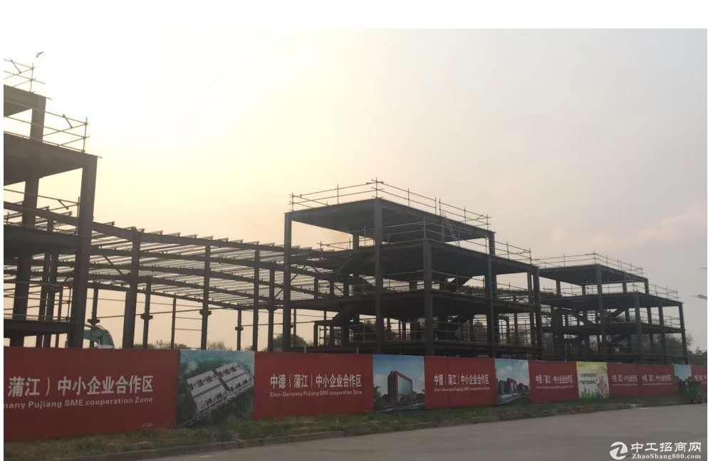 蒲江寿安镇,智能制造装备产业园,独栋厂房招租!