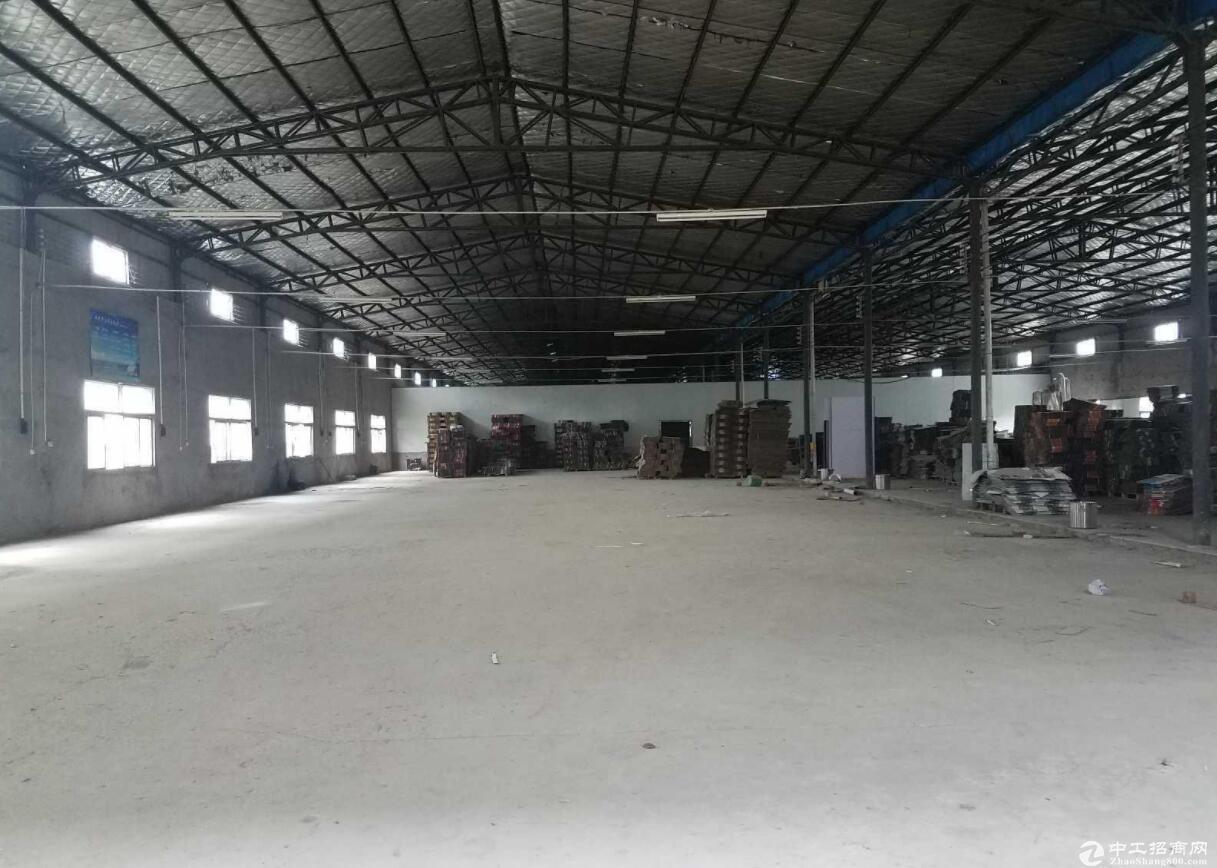 黄陂1000㎡厂房出租 可生产可做仓库