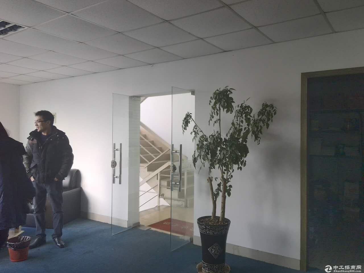 新桥独栋总部精装修绿证50年104板块生产办公研发-图5