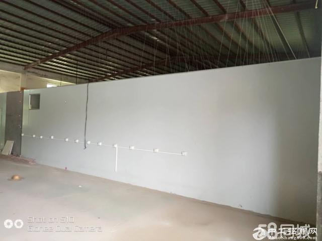 龙岗五联新出1050平米钢构厂房仓库带装修出租招租