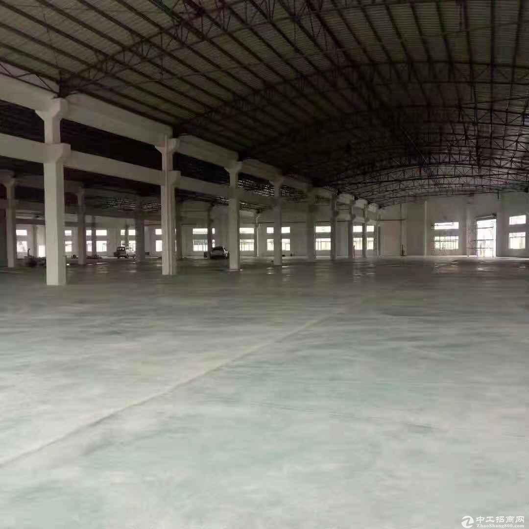 石岩高速口原房东大型钢构厂房8000平方出租