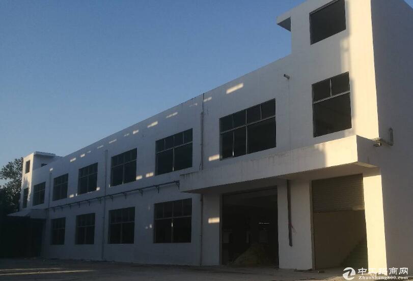 华容区高速路口独栋2120平6米高双层厂房