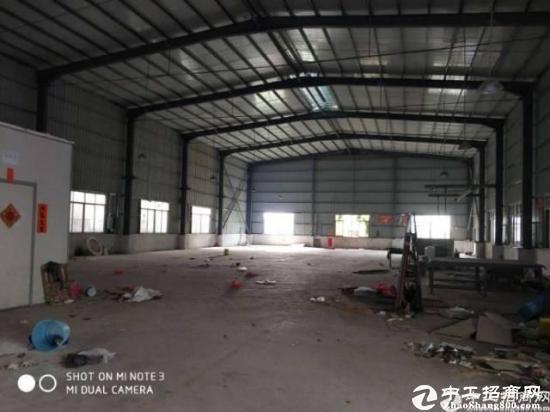 惠州镇隆原房东滴水八米钢构厂房900平!中间无柱