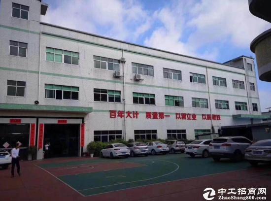 横岗荷坳地铁站附近 一楼1080平红本仓库厂房出租