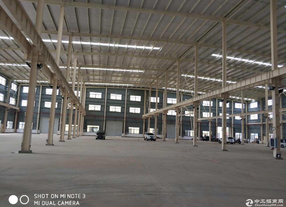 开发区全新钢混厂房带行车可分割产证齐全带办公住宿