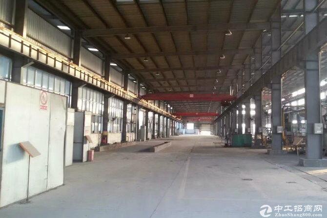 蔡甸经济开发区,单层钢结构厂房出租有行车