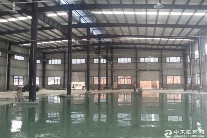 常福5000平单层厂房仓库出租/环氧地坪/丙二类消防