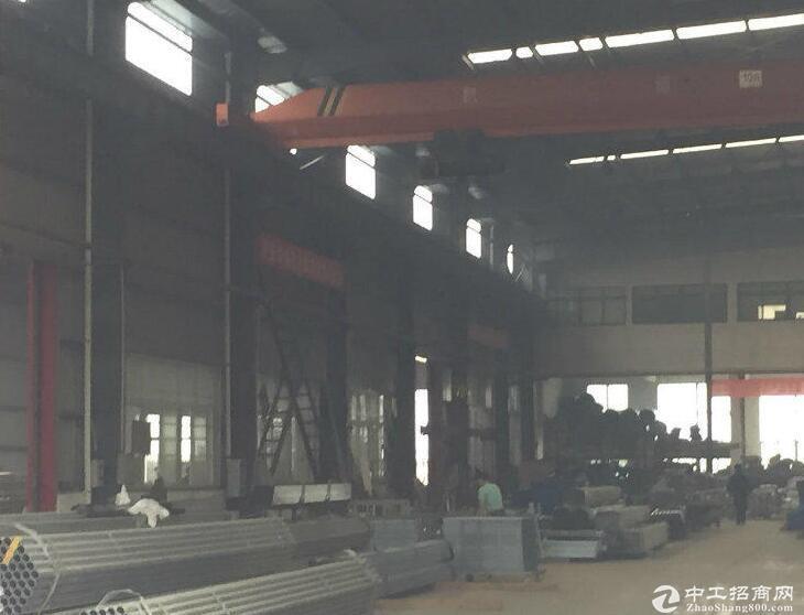 常福1000平单层厂房/层高10米/配备10T行车
