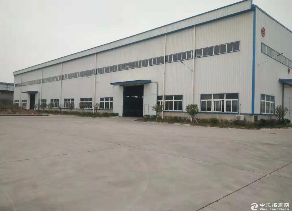 开发区工业园 单层钢结构厂房2000平,十吨行车