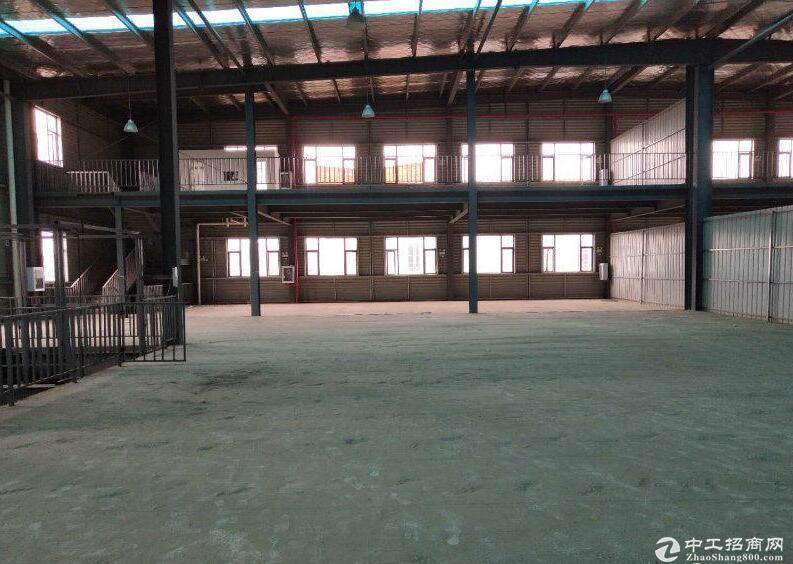 开发区工业园内出租6600钢构厂房平,可任意分租