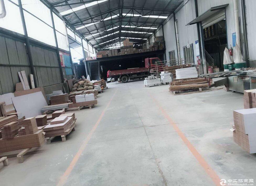 蔡甸城区1000平厂房仓库出租/可分割500平起