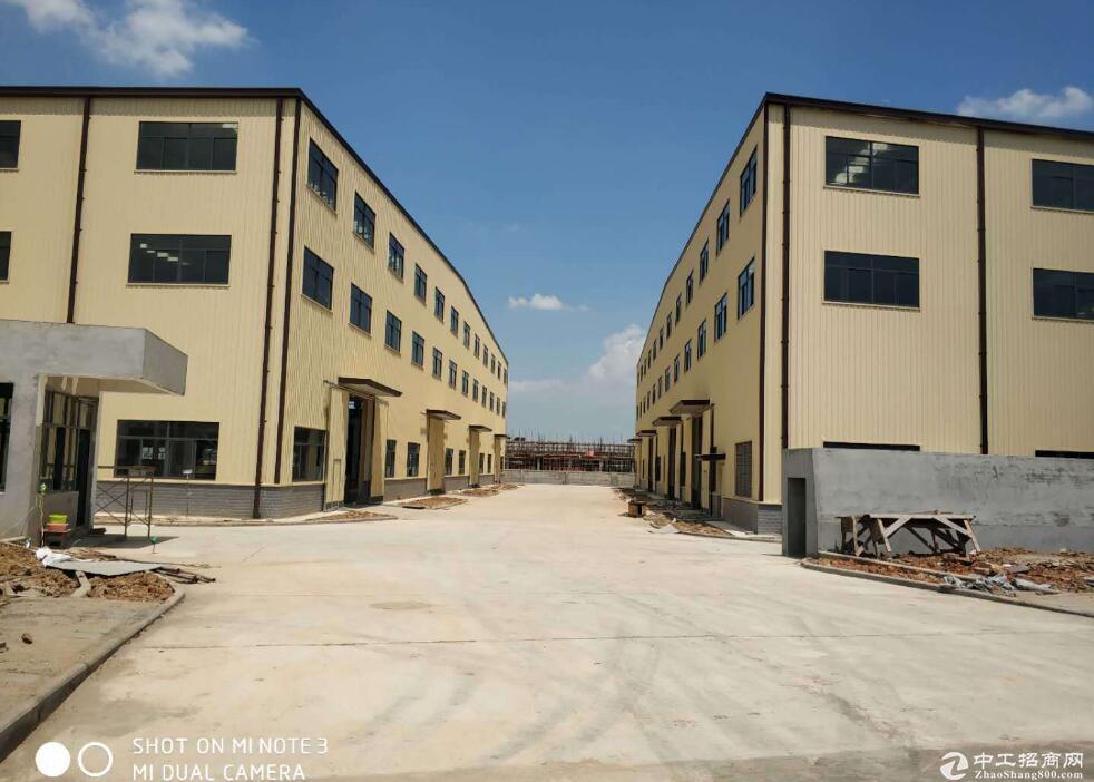 常福工业园,单层钢构厂房7314平整租,带办公和宿舍