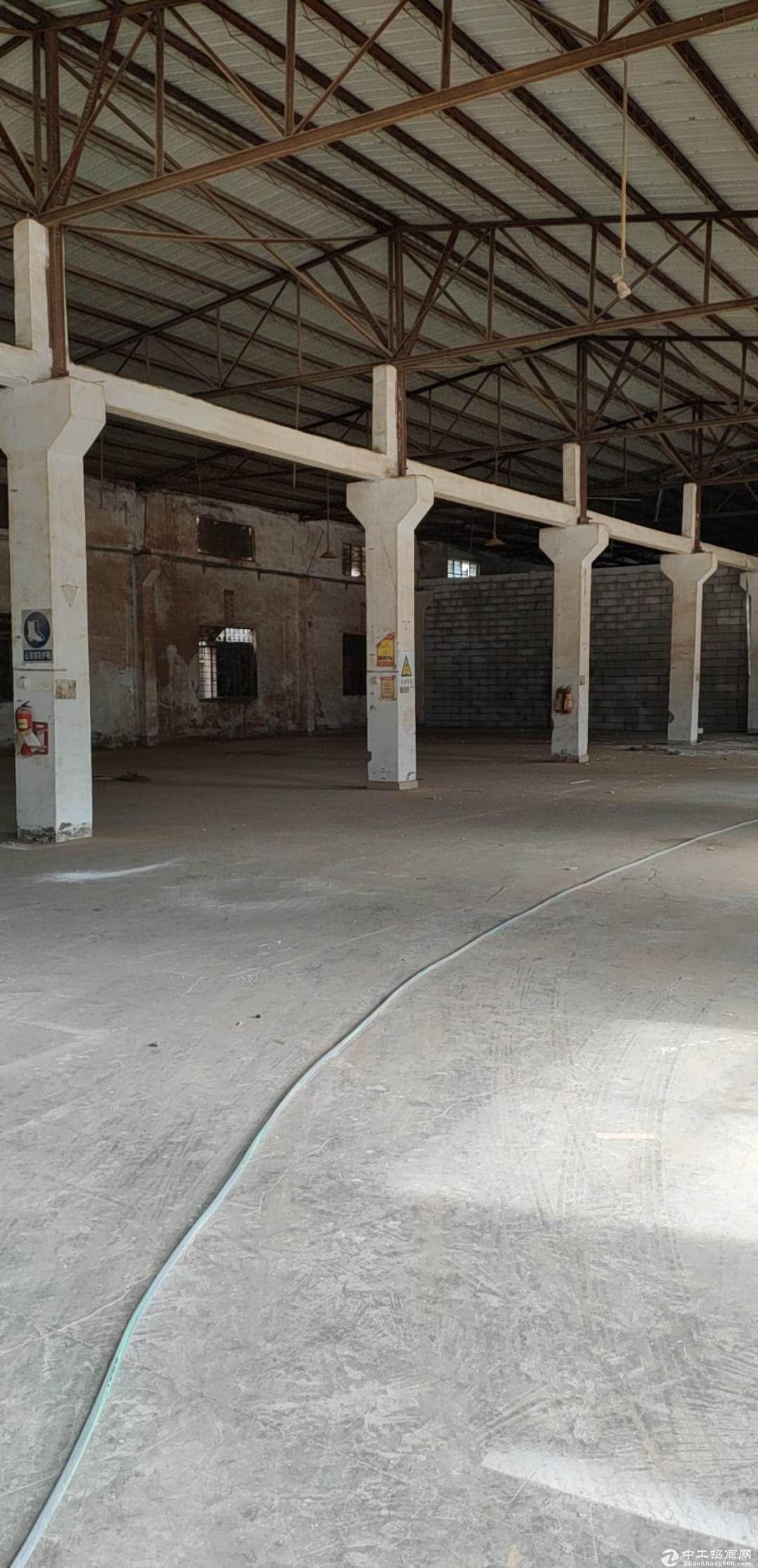 坪山石井新出滴水红本钢构厂房6500平米可分租