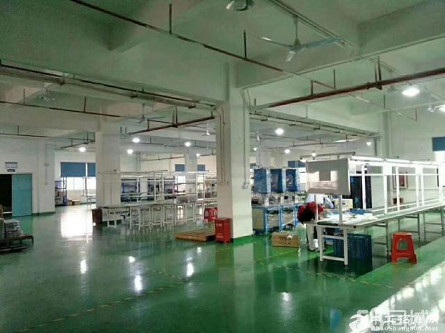 坪山新出5000平米独院厂房招租,租金16元。