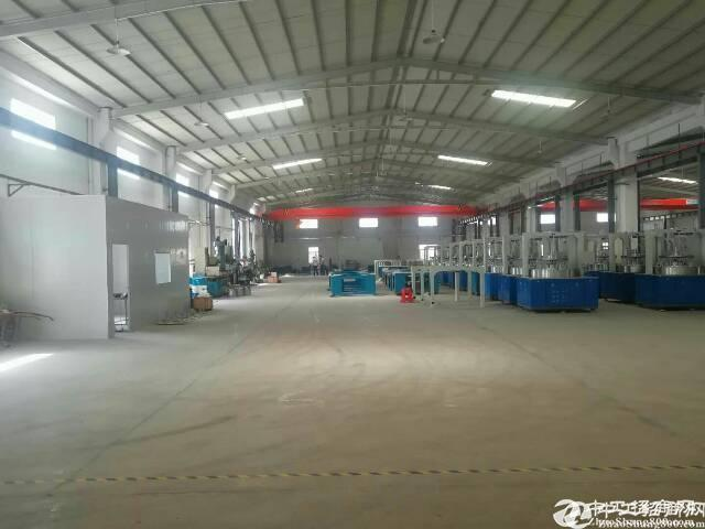 公明合水口新出滴水12米高钢结构厂房租金19