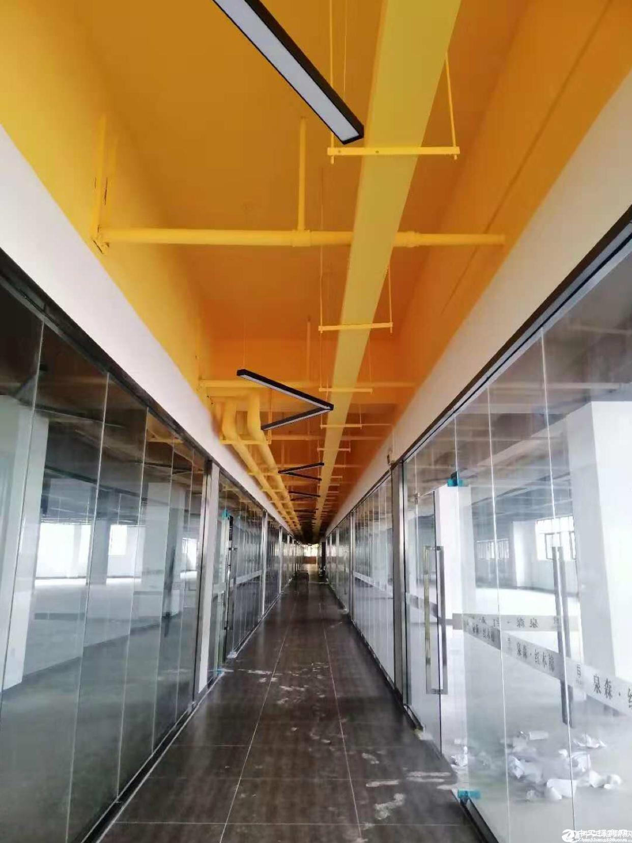 布吉双地铁站附近高绿化红本厂房全新改造78平方起租