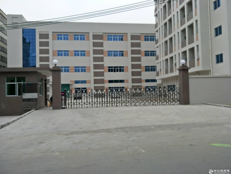 东莞横沥独门独院标准厂房11050平方招租(空地大)