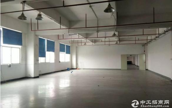 清湖村二楼厂房750平米,可分租