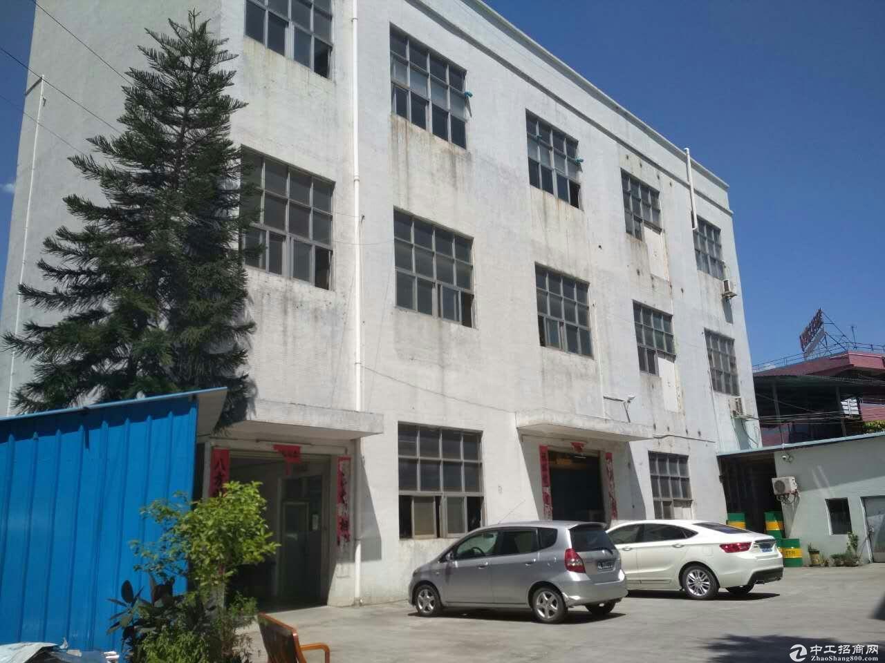 横沥田饶步工业园原房东标准厂房472平招租(可分租)