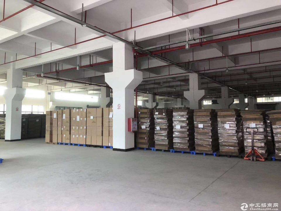 横沥镇原房东重工业厂房二楼2000平可办环评招租