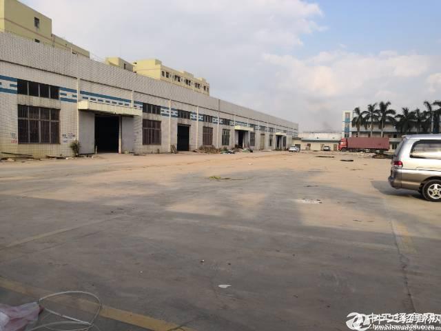 厚街三屯新出独院单一层厂房2300平米,滴水高8米