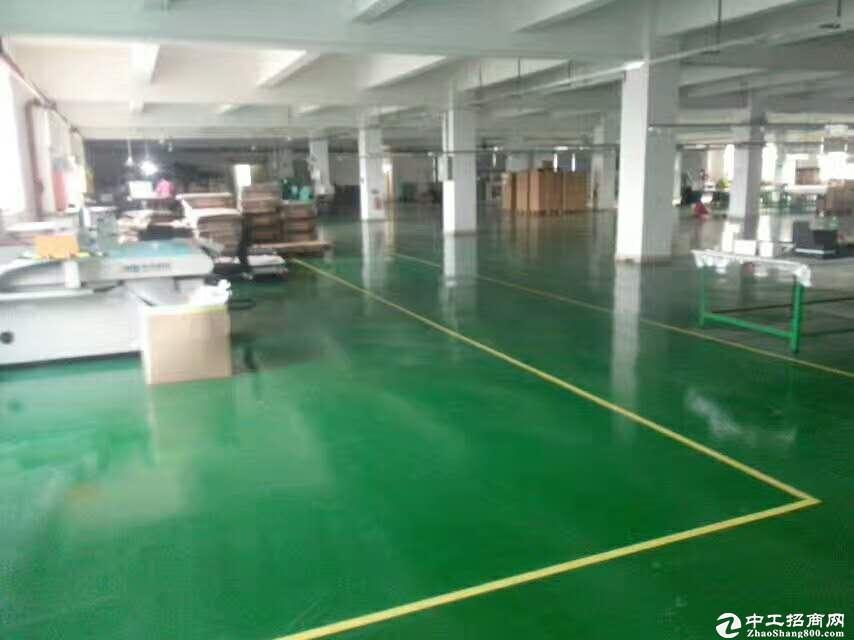 龙岗花园式园区独栋厂房5400平方出租带豪华装修