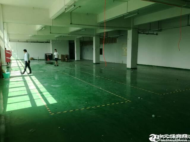 横岗永湖地铁站附近新出楼上厂房1300平带豪华装修