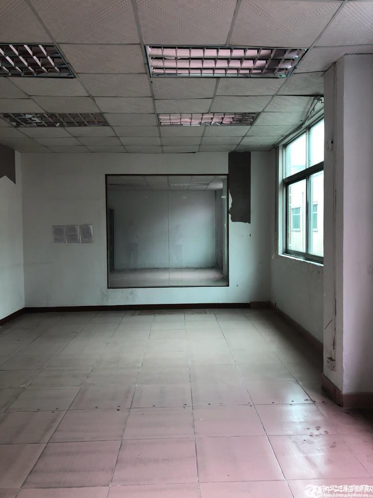 横岗安良独院厂房出租二楼1100平方带装修面积实在