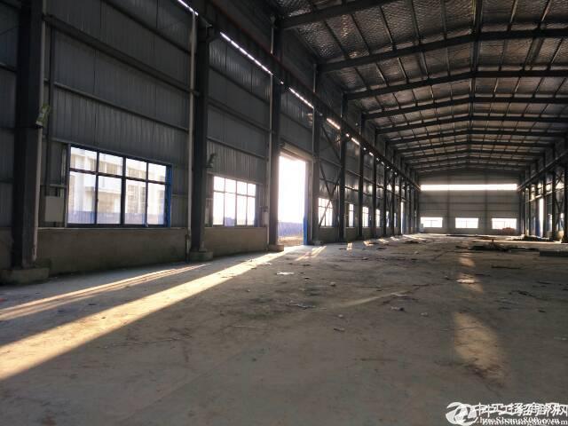 黄陂横店钢结构平库4900平米可分租